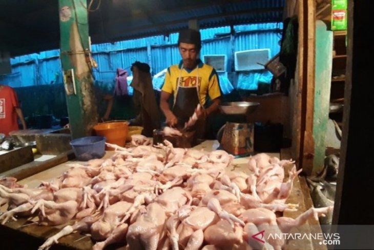 Harga daging ayam ras komoditas paling dominan dorong inflasi di Kalbar