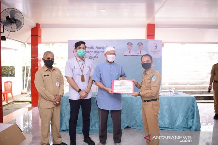Pemkab Bangka mengapresiasi PT Timah bantu nelayan mesin kapal