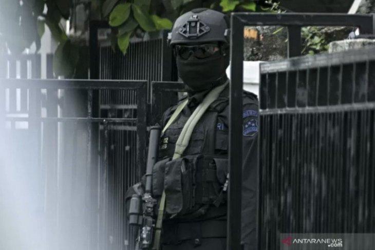 Densus 88 tangkap delapan orang terduga teroris di Sumut