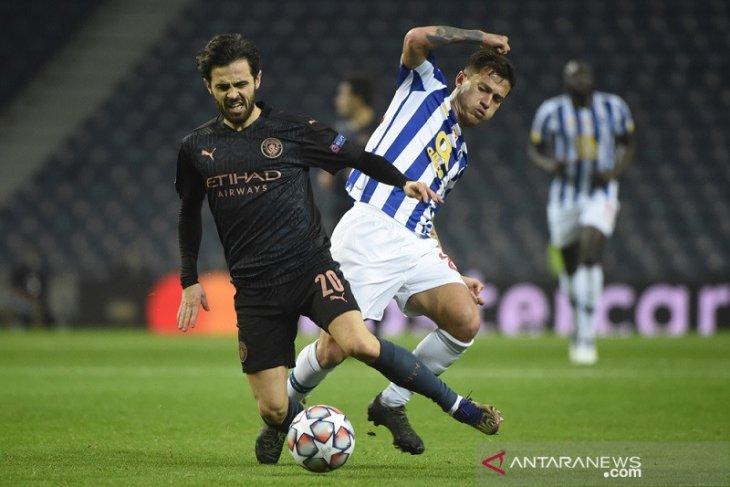 Liga Champions: Porto dampingi Manchester City ke babak gugur