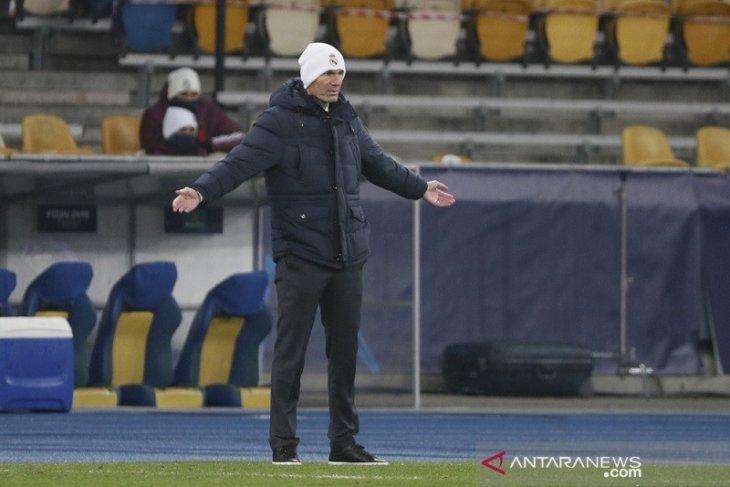 Zidane tetap optimistis walau Real Madrid di ujung tanduk