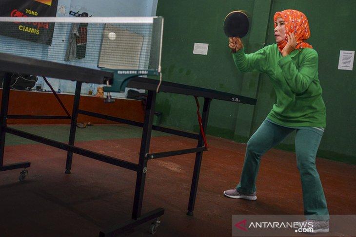 Atlet tenis meja disabilitas Peparnas Jabar