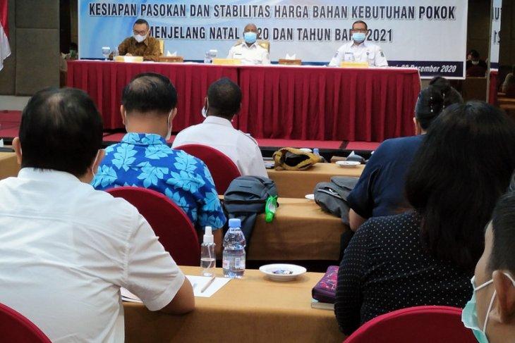 Pemprov Papua Barat kumpulkan pelaku usaha cegah lonjakan harga bapok
