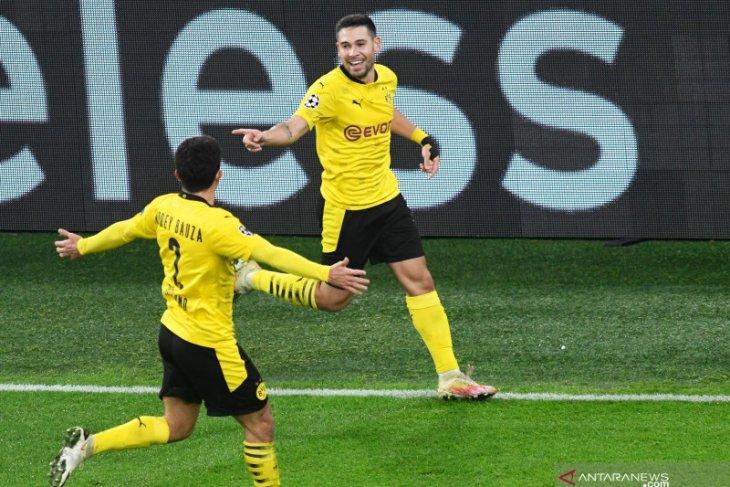 Dortmund lolos ke fase gugur, Brugge memelihara asa
