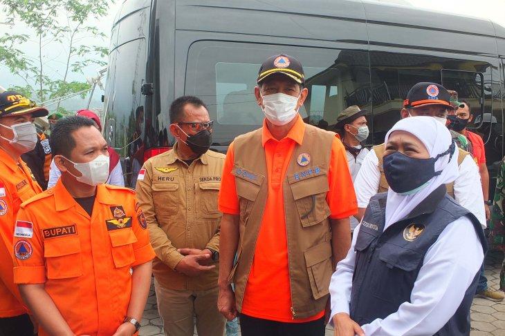 Gubernur Jatim dan BNPB pantau aktivitas Gunung Semeru