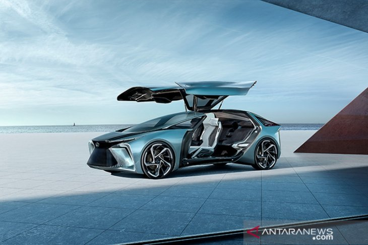 Lexus LF-30 Concept, mobil listrik premium di masa depan