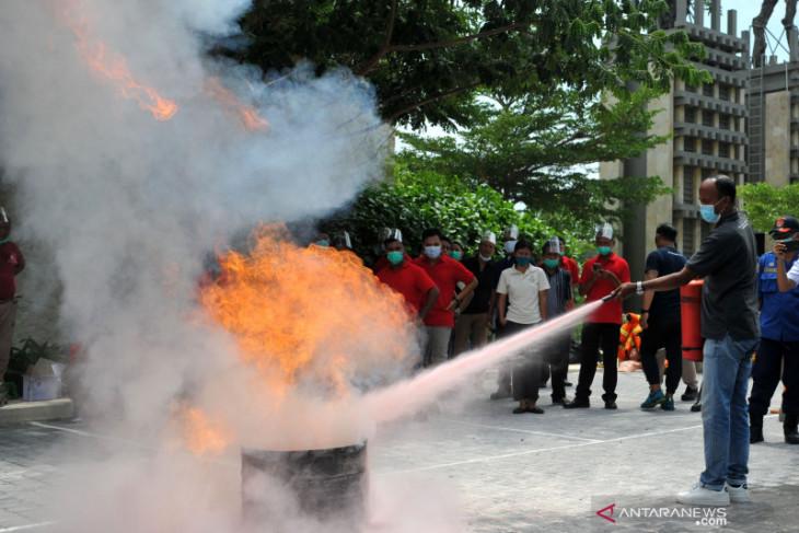 Karyawan hotel di Badung ikuti pelatihan tanggulangi kebakaran