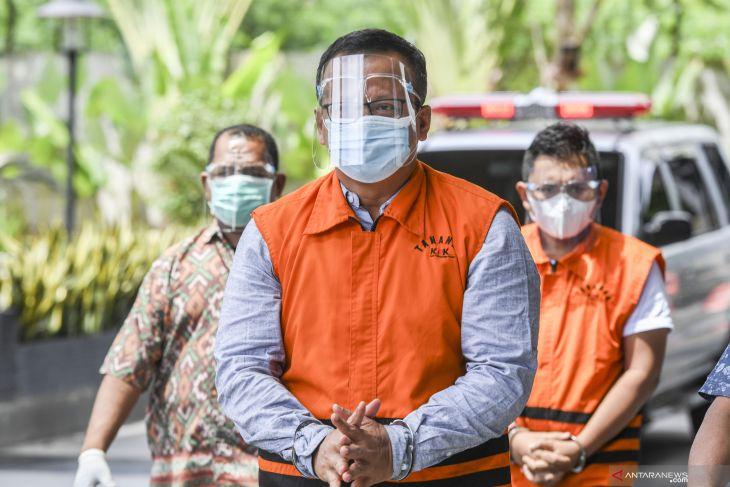Edhy Prabowo dikonfrontasi KPK soal barang mewah dibeli di AS