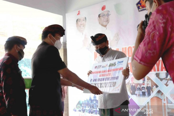 Hotel dan restoran di Buleleng terima hibah Rp9,3 miliar