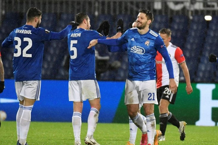 Liga Europa: Dinamo Zagreb amankan tiket 32 besar usai pecundangi Feyenoord - ANTARA News Jawa Timur