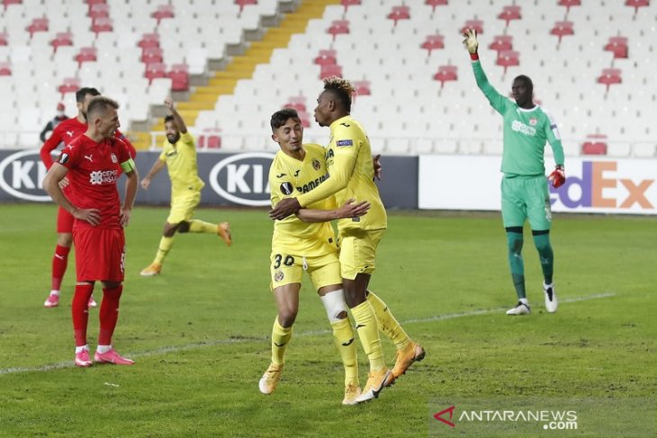 Villarreal mengunci satu tiket babak gugur Liga Europa