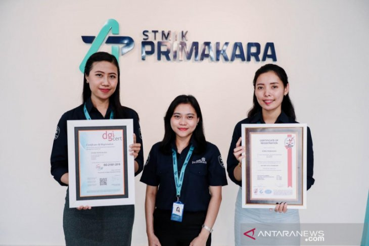 Penuhi standar internasional, STMIK Primakara raih dua sertifikat ISO
