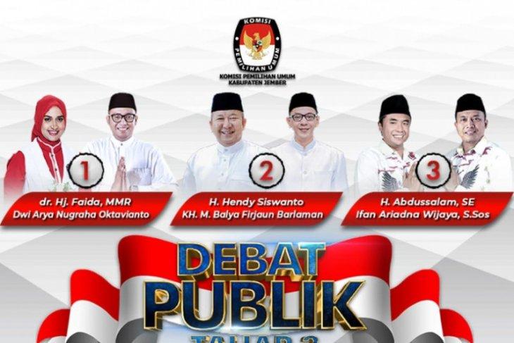 Efektifkah debat publik pengaruhi pemilih dan tingkatkan partisipasi di Pilkada Jember?
