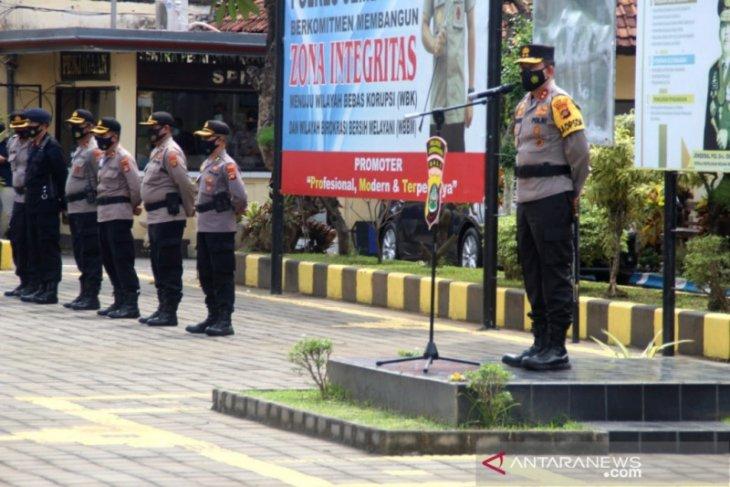Kapolda Bali pantau kesiapan Pilkada Jembrana