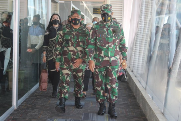 Pangdam XVI Pattimura pantau kesiapan pengamanan pilkada di Malut