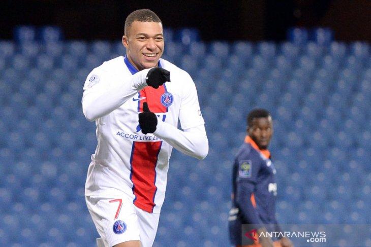 Kylian Mbappe tembus 100 gol di Paris Saint-Germain