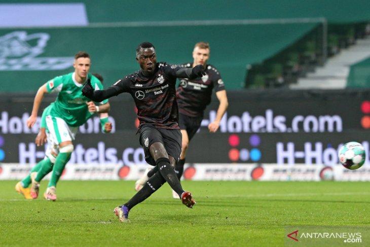 Dwigol Silas pastikan Stuttgart memecundangi Werder Bremen 2-1