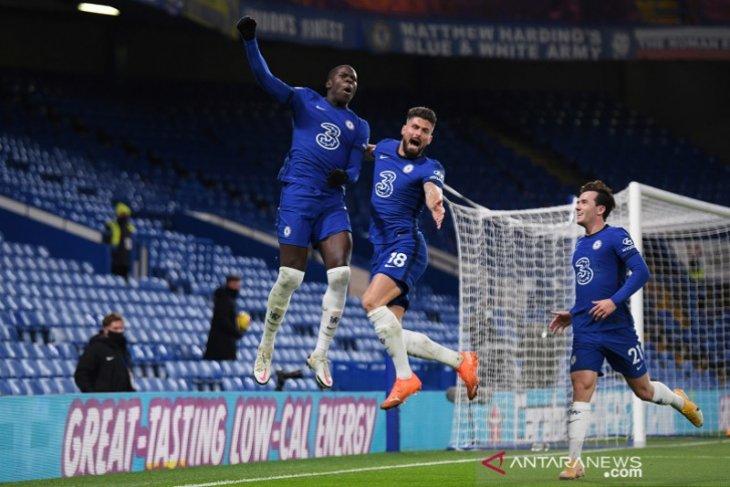 Klasemen Liga Inggris: Chelsea rebut puncak jelang Derbi London Utara edisi perdana musim ini