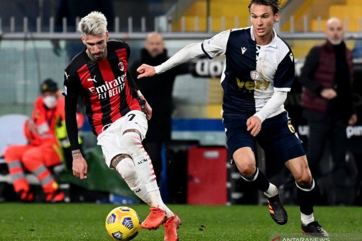 Klasemen Liga Italia, Milan pelihara keunggulan lima poin dari Inter