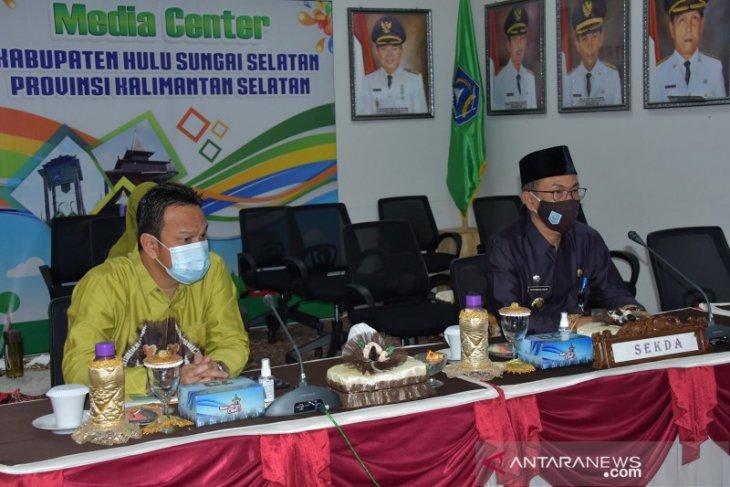 Pemkab HSS ikuti monev satgas pencegahan korupsi KPK