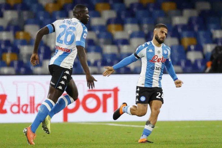 Napoli berbagi poin dengan Sassuolo, enam gol dalam pertandingan