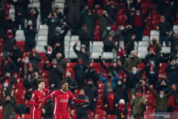 Jurgen Klopp emosional lihat kehadiran suporter di Anfield