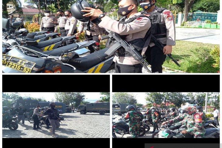 Apel gelar pasukan kesiapan TNI-Polri mengamankan pilkada Sibolga