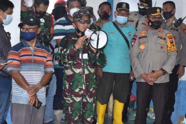 Pangdam beri semangat para korban banjir Medan-Deli Serdang