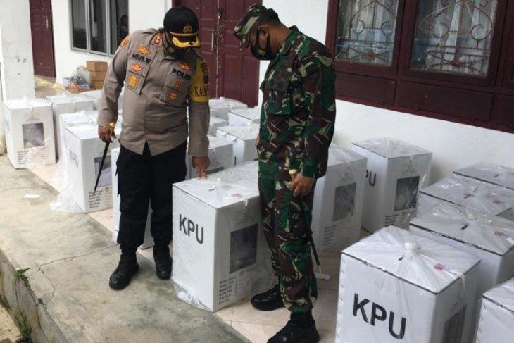 Tim Pengamanan tinjau kesiapan penyelenggara Pilkada serentak di Simalungun