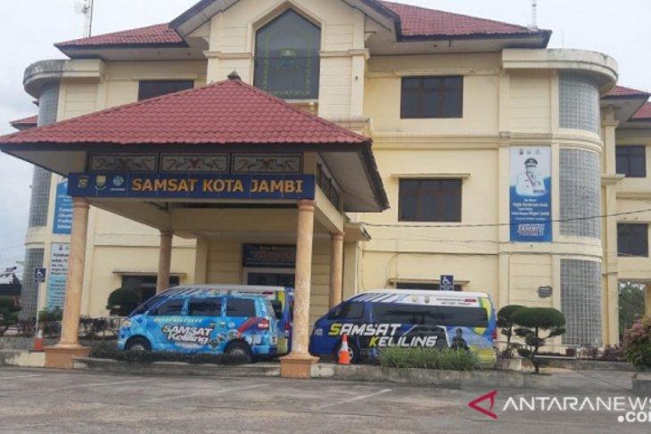 Tes cepat empat petugas reaktif, Kantor Samsat Jambi tutup