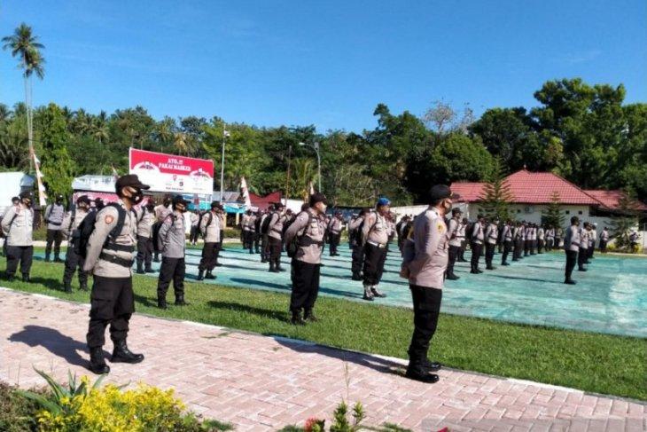 Polres Bone Bolango siapkan 231 personel untuk amankan TPS