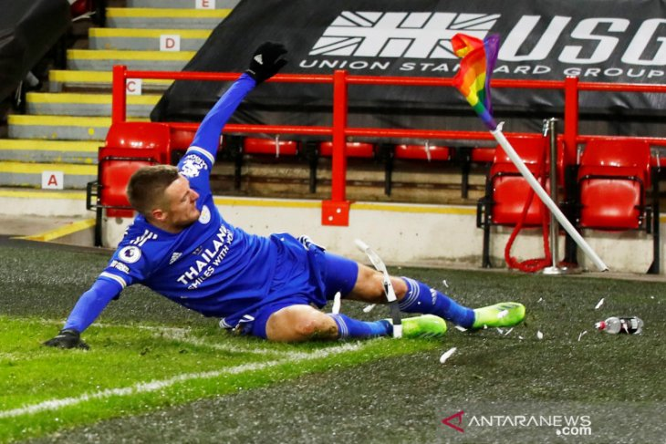 Vardy dan Maddison absen saat Leicester lawan Stoke City