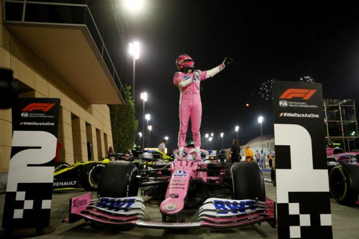 Kemenangan pertama di F1 bak mimpi bagi Sergio Perez