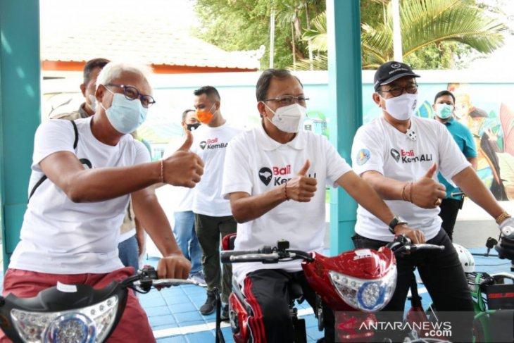 Gubernur Koster: Kehadiran sepeda listrik dukung alam Bali bebas polusi
