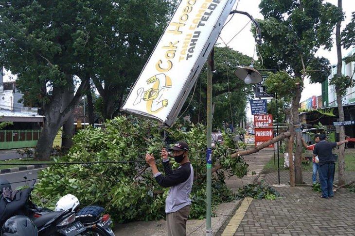 Warga Kota Malang diminta waspadai bencana angin kencang