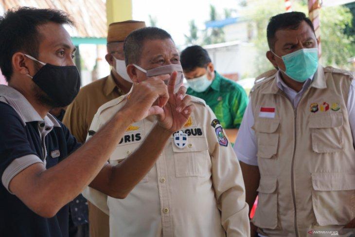 Wagub Idris pantau kesiapan TPS di Kabupaten Gorontalo