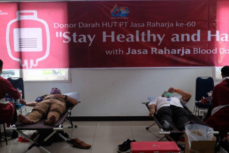 Jasa Raharja Kalbar gelar donor darah