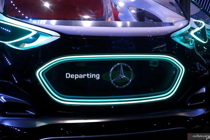 Mercedes-Benz produksi mobil di China, menyambut pemulihan ekonomi Asia