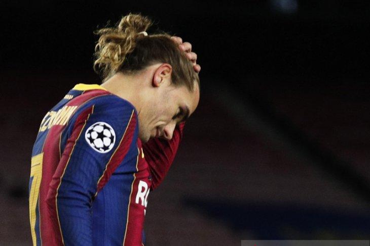 Griezmann:  Barca main tanpa berkeinginan menang saat dihajar Juve