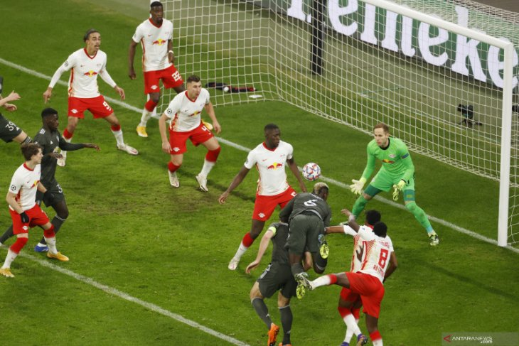 Liga Champions: Leipzig kirim Manchester United ke Liga Europa