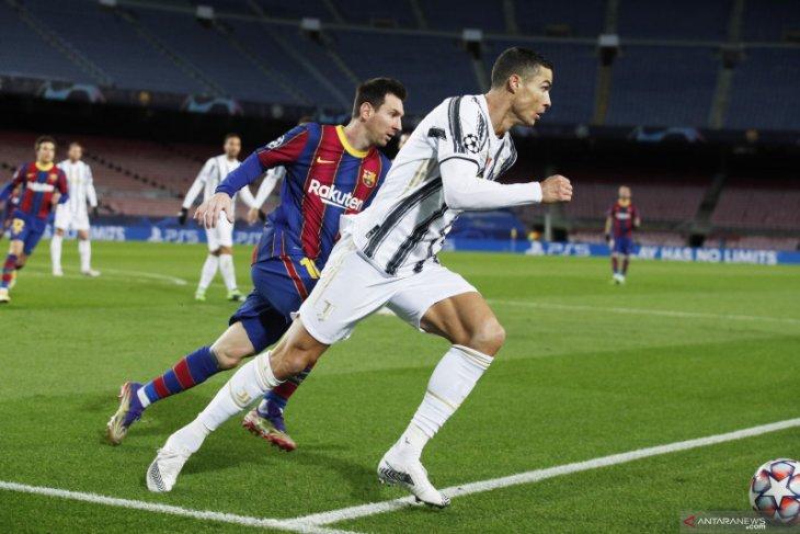 Ronaldo tidak anggap Lionel Messi sebagai rival