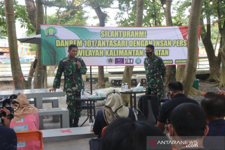 TNI pertebal kekuatan di pilkada Banjar dan Tanah Bumbu