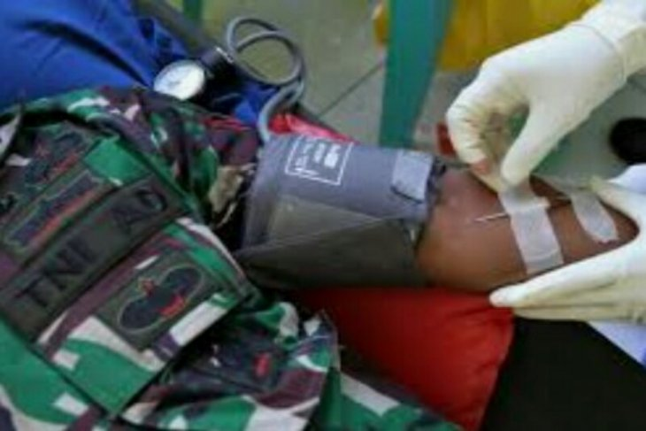 Jaga Pilkada masih sempat donor darah