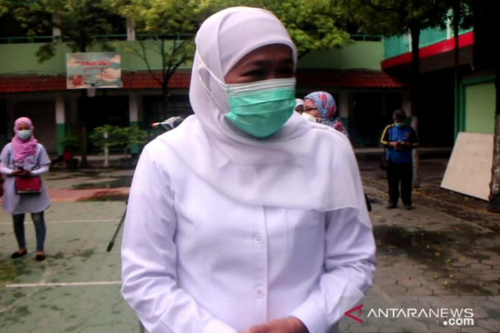 East Java governor tests positive for COVID-19