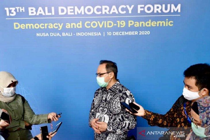BDF diharapkan perkuat praktik demokrasi di Asia Pasifik