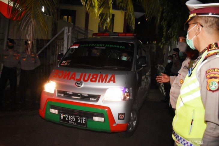 Pemimpin FPI sebut tak mengetahui yang membuntuti adalah mobil polisi