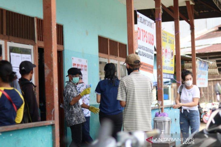 Warga perbatasan Indonesia - Malaysia antusias salurkan hak pilih di Pilkada Bengkayang