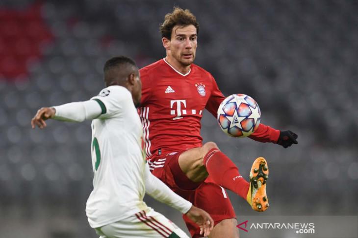 Gelandang Bayern Munchen  Goretzka cedera, absen di Piala Jerman
