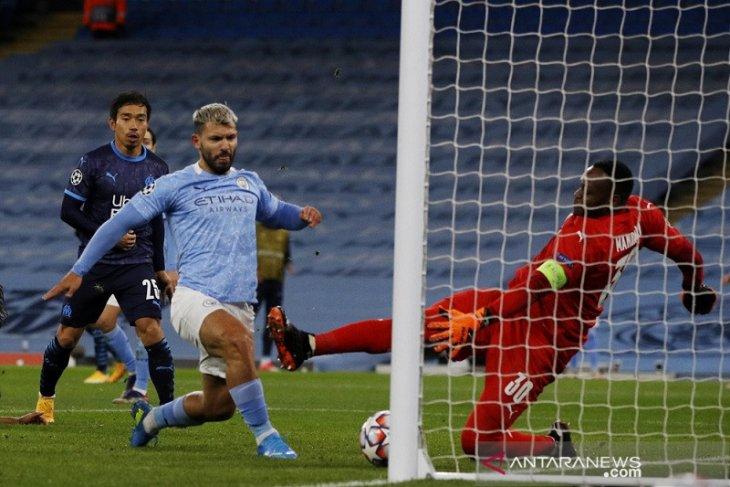 Man City kubur mimpi Marseille bertahan di Eropa