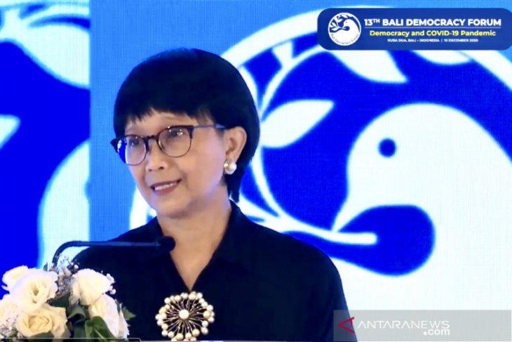 Foreign Minister Marsudi opens 13th BDF in Nusa Dua